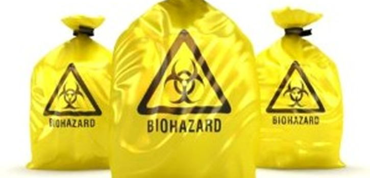 Biohazard Cleaning Holder