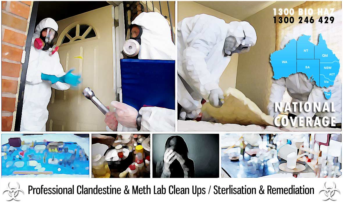 Karte  Clandestine Drug Lab Cleaning